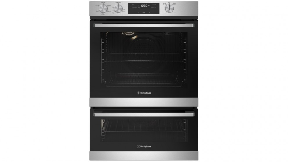 Westinghouse 600mm Stainless Steel Multifunction Wall Oven with Separate Grill