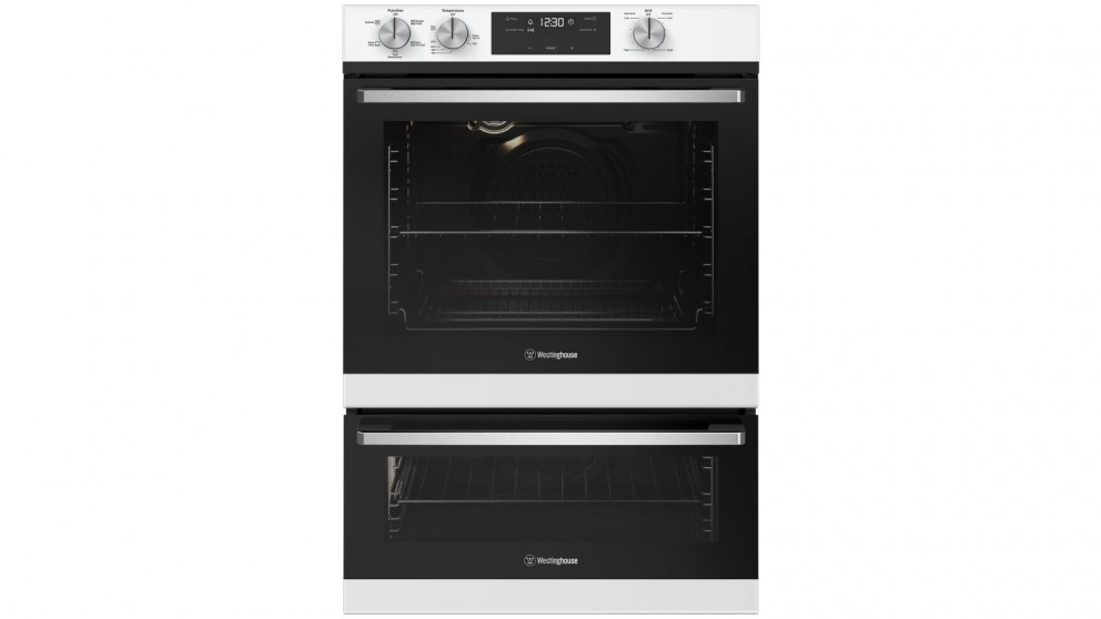 Westinghouse 600mm White Multifunction Wall Oven with Separate Grill