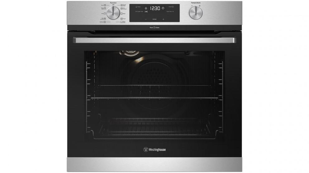 Westinghouse 600mm Stainless Steel Pyrolytic Oven