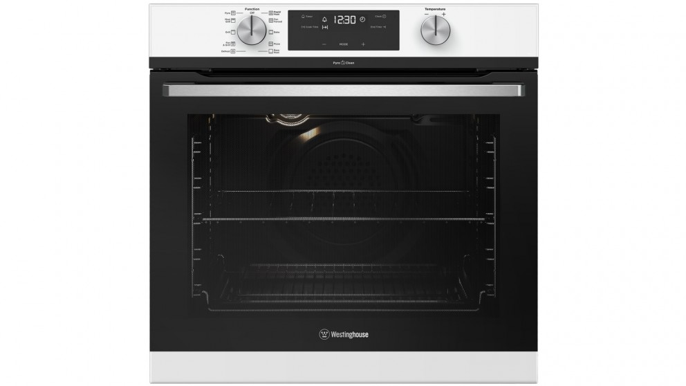 Westinghouse 600mm White Pyrolytic Oven