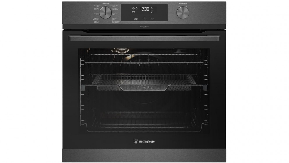 Westinghouse 600mm Dark Stainless Steel Pyrolytic Oven with AirFry