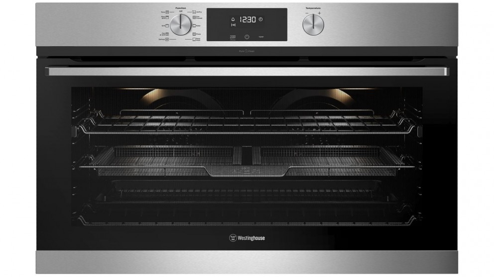 Westinghouse 900mm Stainless Steel Pyrolytic Oven with AirFry