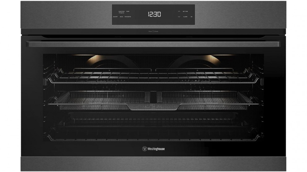 Westinghouse 900mm Dark Stainless Steel Pyrolytic Oven with AirFry