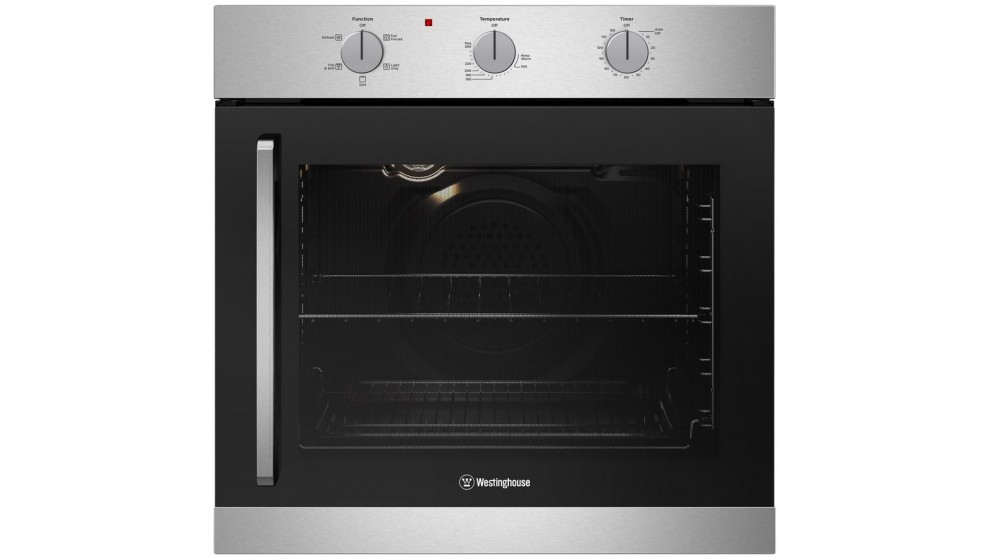 Westinghouse 600mm Stainless Steel Multifunction Oven with Right Side Opening Door