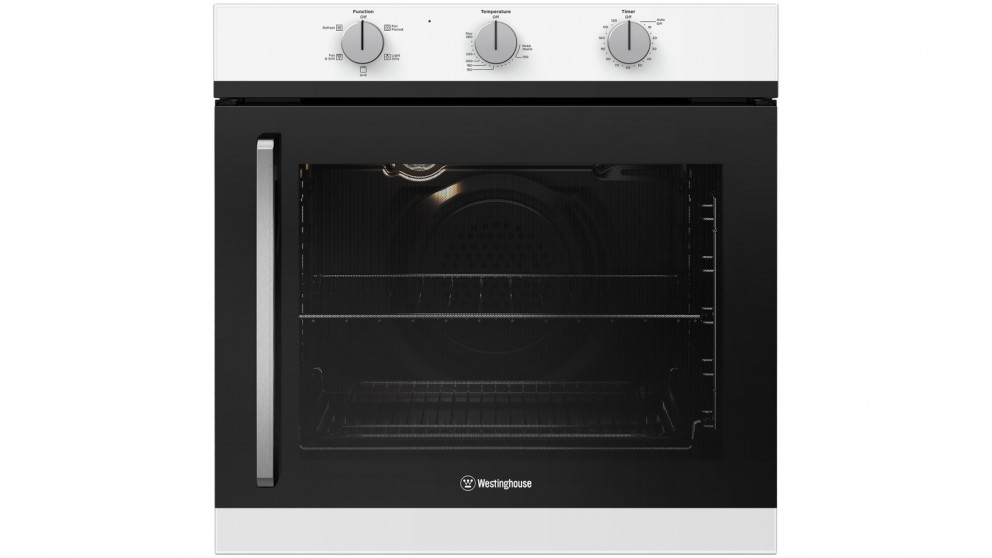 Westinghouse 600mm White Multifunction Oven with Right Side Opening Door