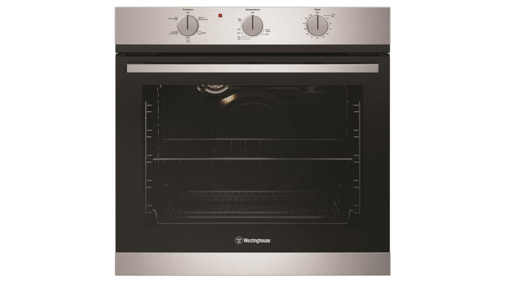 Westinghouse 600mm Stainless Steel Fan Forced Natural Gas Oven