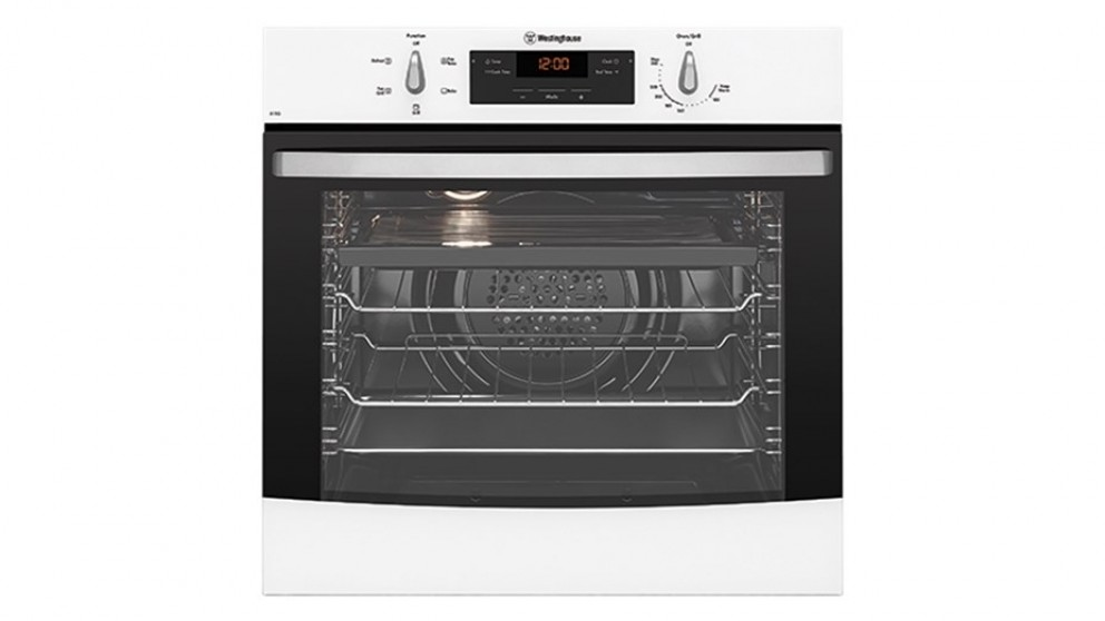 Westinghouse 600mm Multifunction Natural Gas Single Oven - White