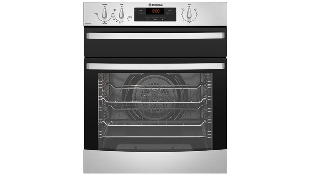 Westinghouse 600mm Stainless Steel Fan Forced Natural Gas Underbench Oven with Separate Grill