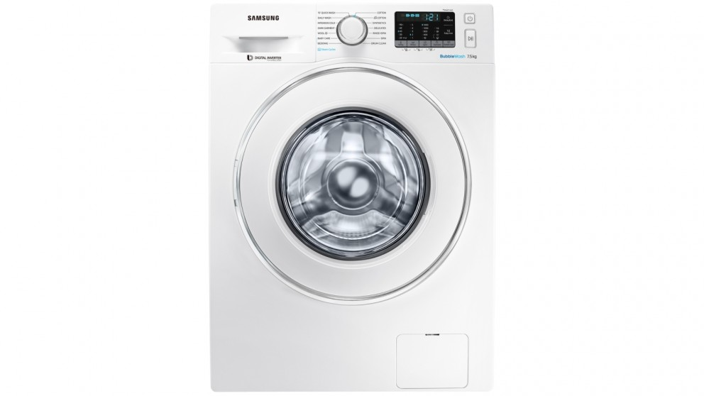 Buy Samsung 75kg Bubblewash Front Load Washing Machine With Steam