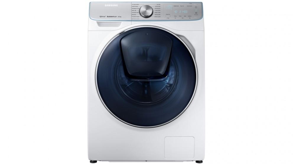 Buy Samsung 85kg Quickdrive Crystal Blue Door Front Load Washing