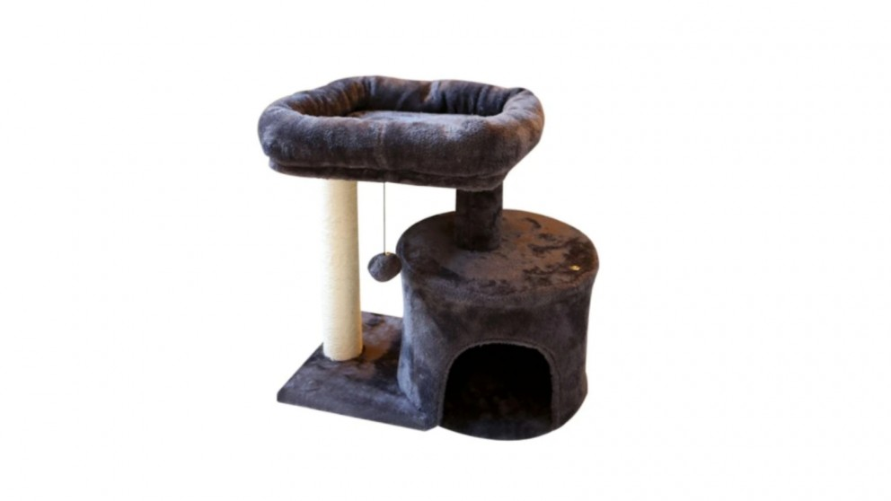 Catio Chipboard Flannel Cat Scratching Tower - Mini
