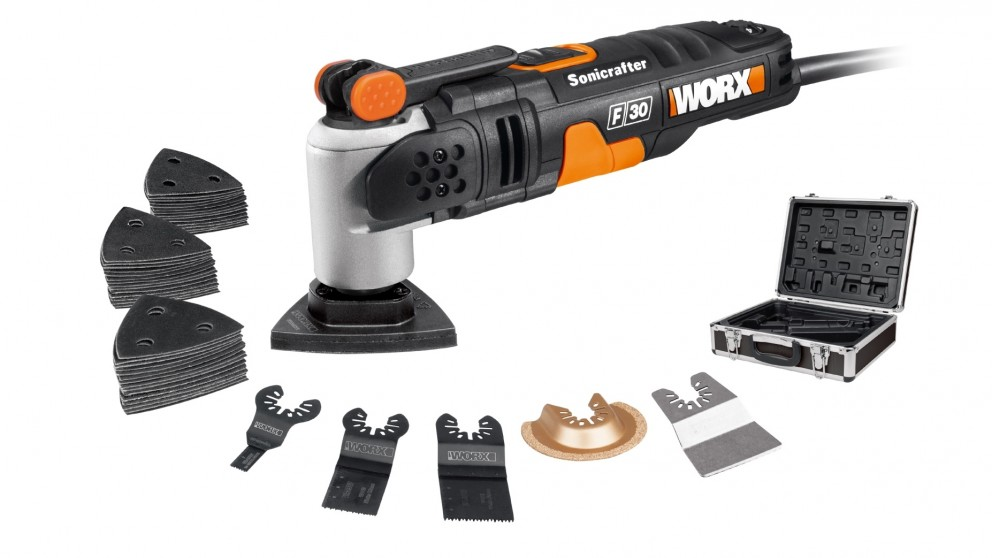 Worx 350W Sonicrafter Multitool 29-Piece Kit