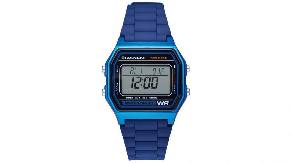 Maxum Digit Digital Watch - Blue