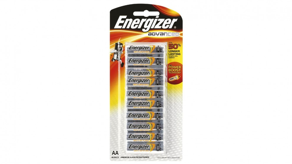 Energizer Advanced AA Battery - 10 Pack