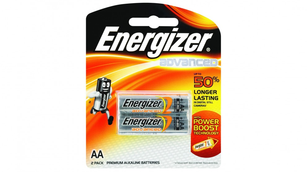 Energizer Advanced AA Batteries - 2 Pack