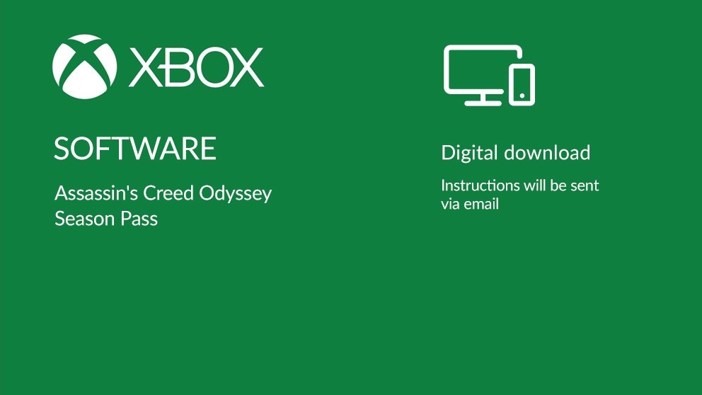 Assassin's Creed Odyssey Season Pass Digital Download - Xbox One