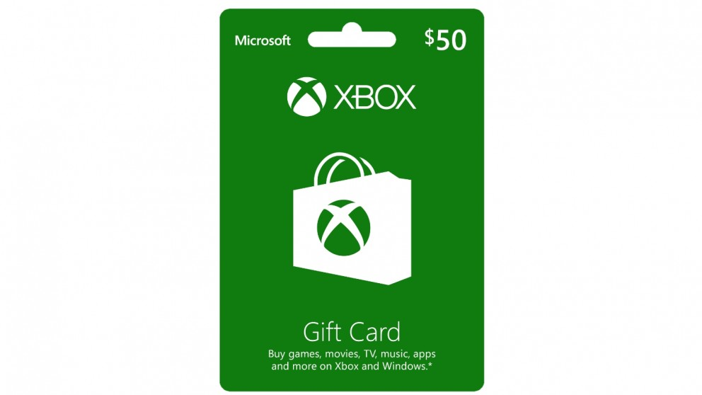 Xbox Live $50 Gift Card