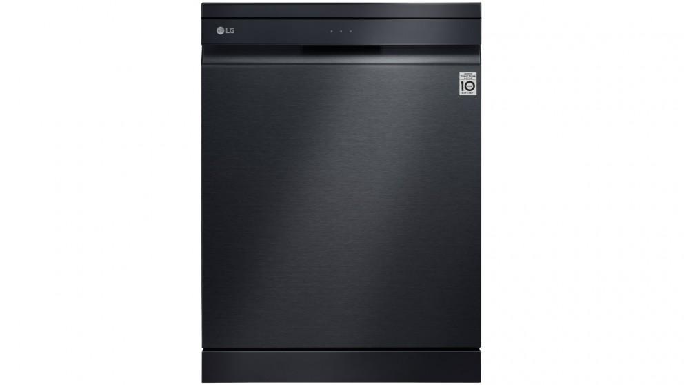 LG 15 Place QuadWash Dishwasher with Truesteam - Matte Black