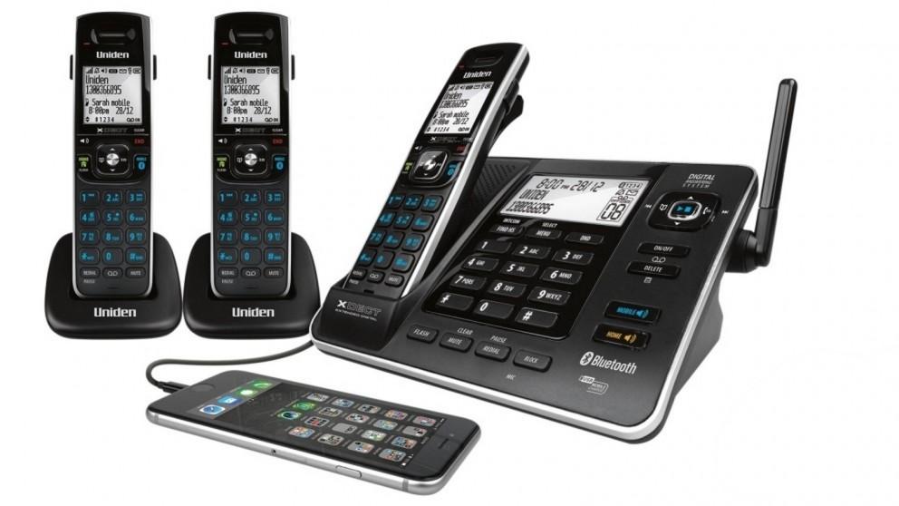Uniden XDECT8355+2 Digital Cordless Phone System