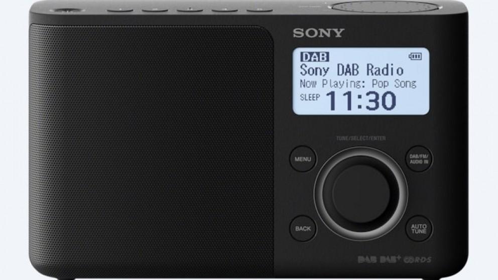 cheap sony portable dab dab digital radio harvey norman au. Black Bedroom Furniture Sets. Home Design Ideas