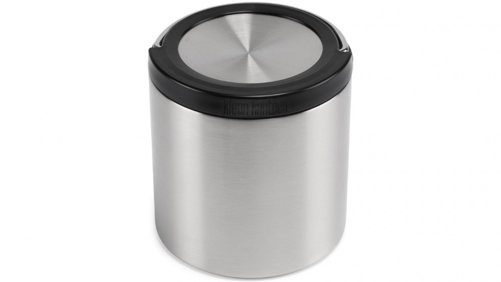Klean Kanteen 32oz TKCannister with Insulated Lid - Stainless Steel