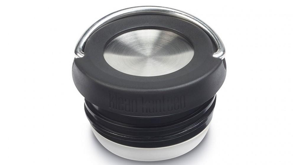 Klean Kanteen Wide Loop Cap for TKWide Bottles - Black/Brushed Stainless