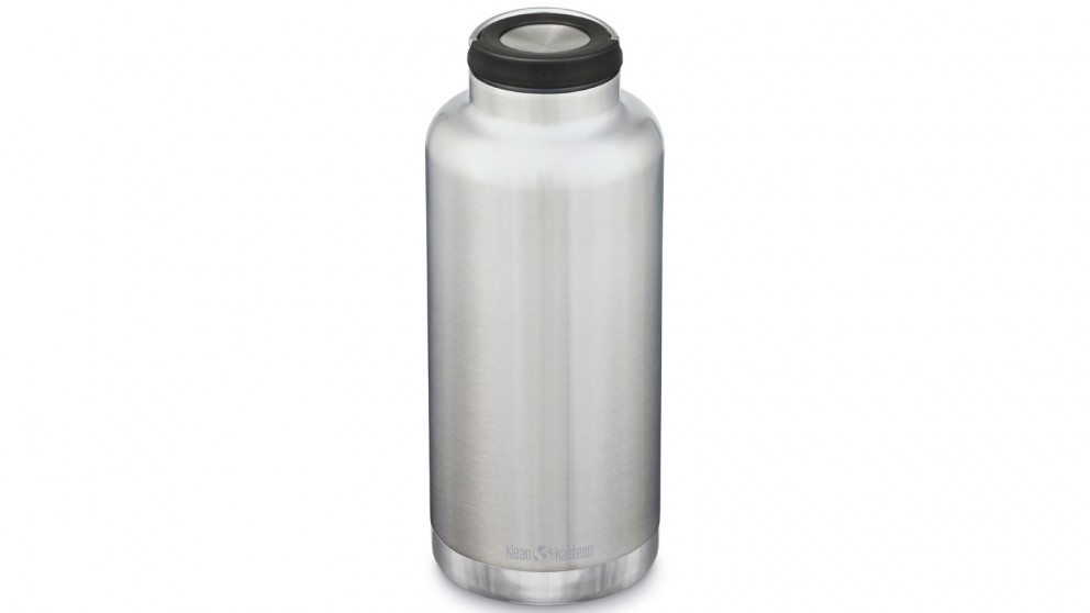 Klean Kanteen TKWide 64oz with Loop Cap Bottle - Brushed Stainless