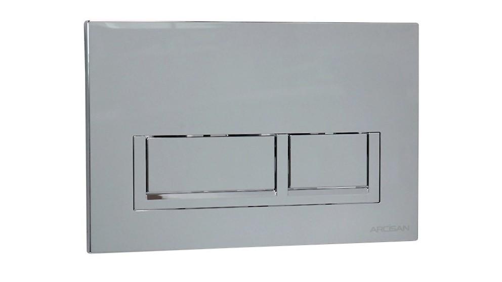 Arcisan Xoni Flush Plate - Chrome