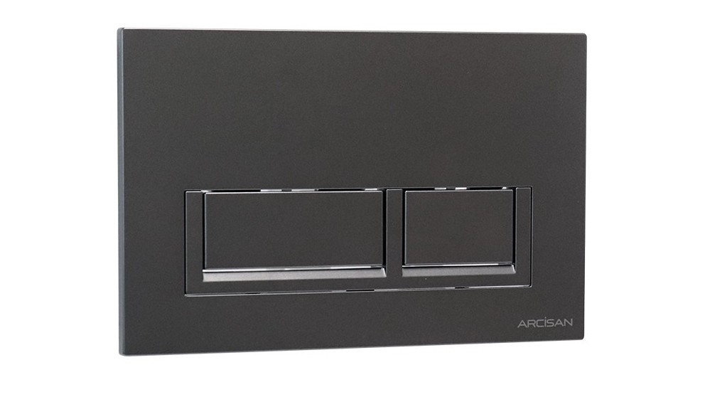 Arcisan Xoni Flush Plate - Gunmetal