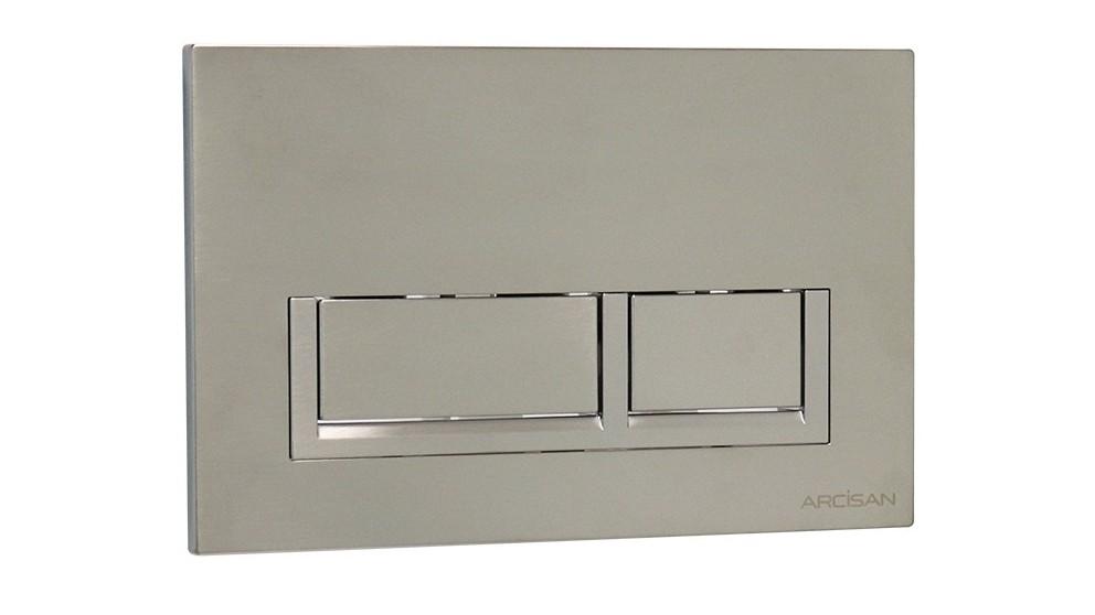 Arcisan Xoni Flush Plate - Satin Nickel