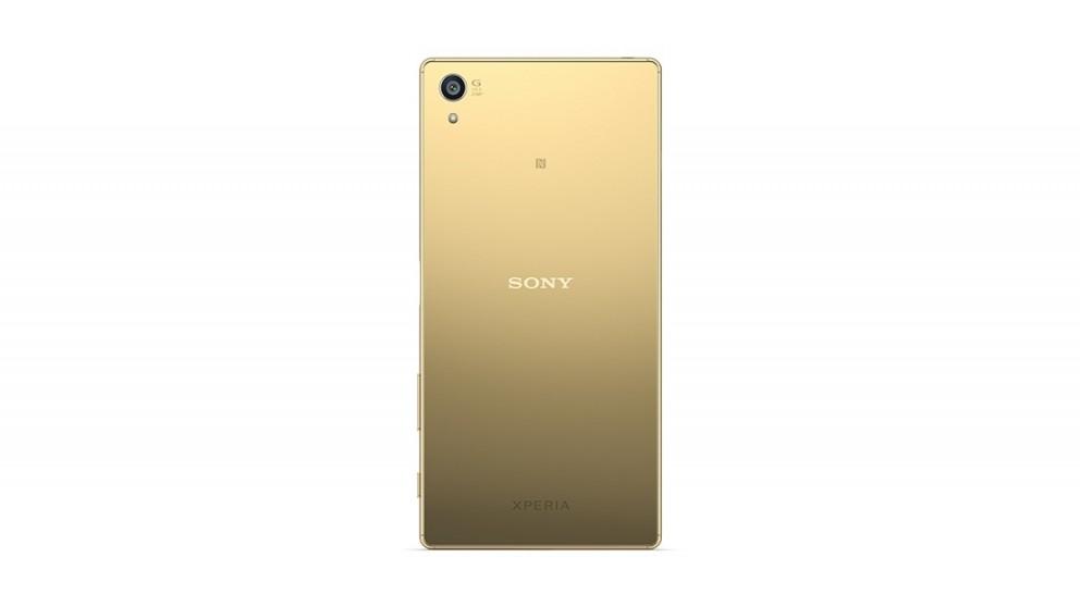 sony xperia z5 premium gold. sony xperia z5 premium smartphone gold