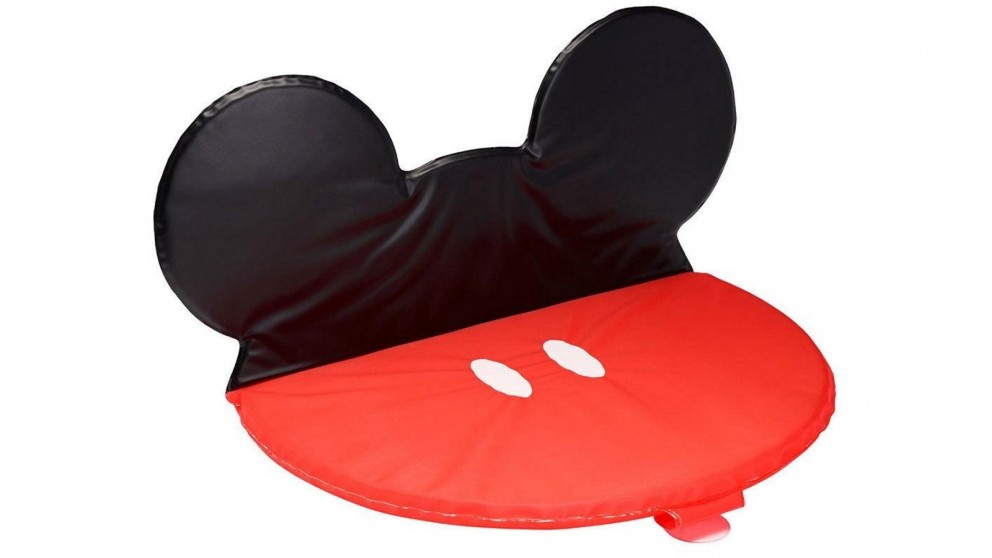 The First Years Disney Mickey Mouse Cushion Bath Kneeler - Red/Black