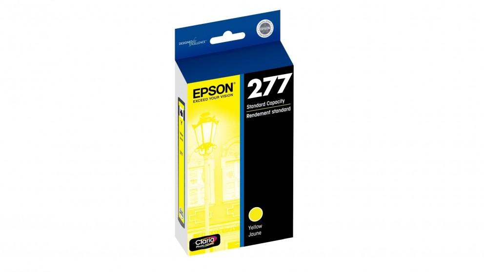 Epson 277 Std Capacity Claria Photo HD Ink Cartridge - Yellow