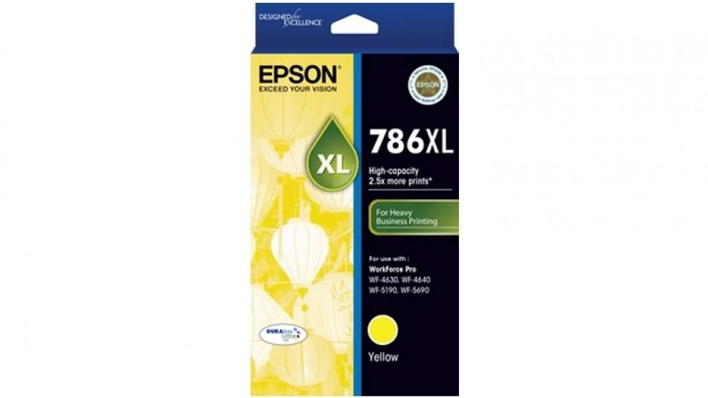 Epson 786XL DURABrite Ink Cartridge - Yellow