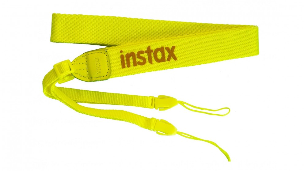 Instax Adjustable Camera Strap - Yellow