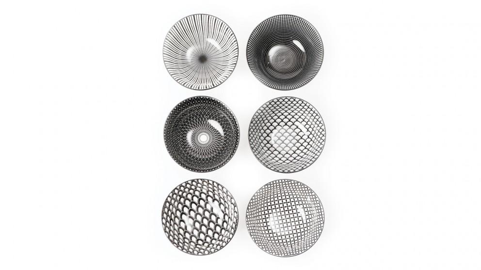 Cooper & Co. Ceramic Ava Bowls Large - Set of 6