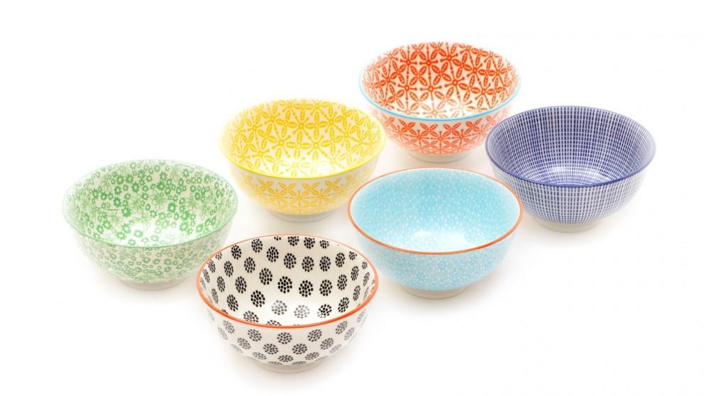Cooper & Co. Ceramic Viola Bowls 12cm - Pack of 6