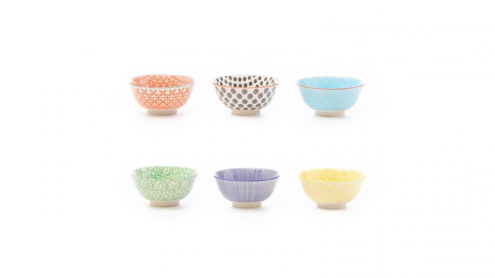 Cooper & Co. Ceramic Viola 15cm Bowls Large 15cm - Set of 6