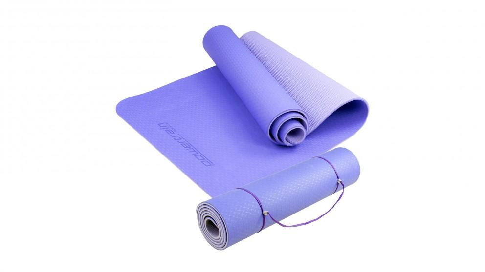 Powertrain Yoga/Pilates Exercise Mat - Blue