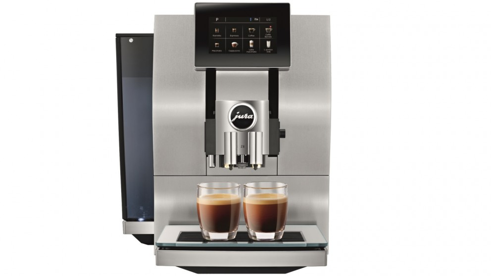 Jura Z8 Automatic Coffee Machine with Professional Aroma Grinder