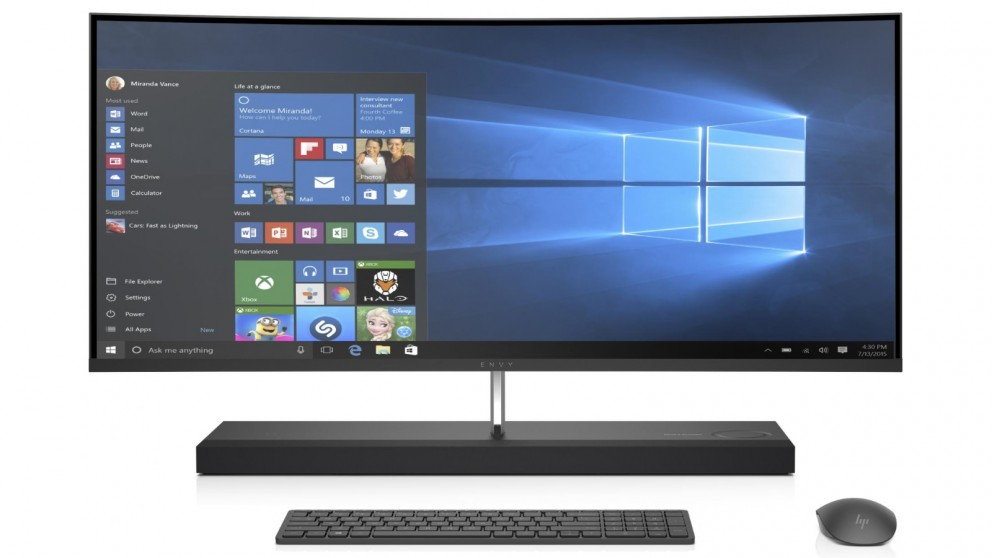 "HP Envy 34-B010A Curved 34"" All-in-One Desktop"