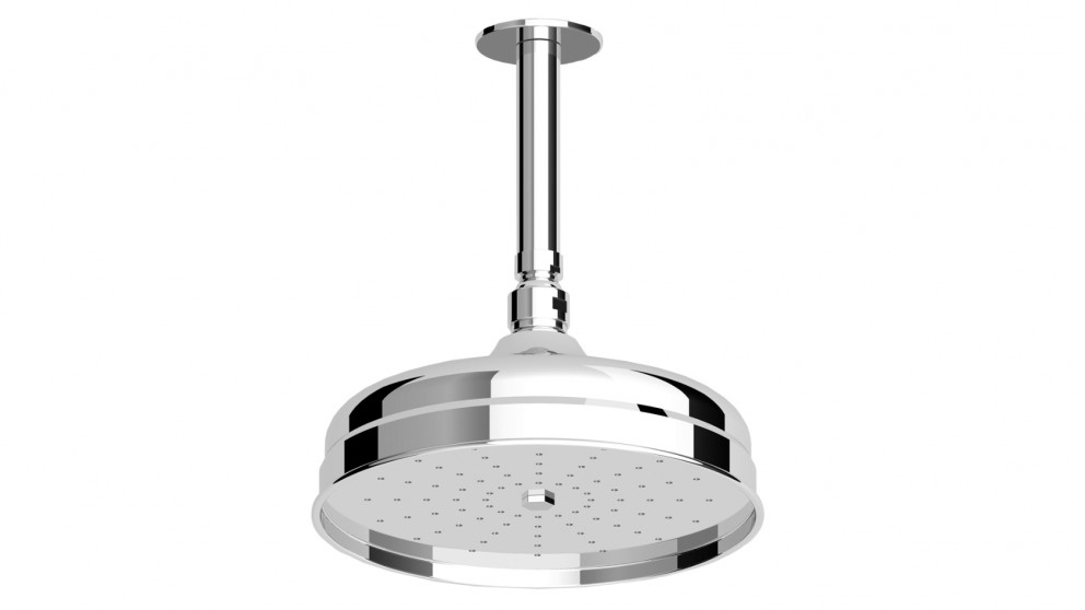 Zucchetti Delfi Showerhead and 300mm Vertical Arm
