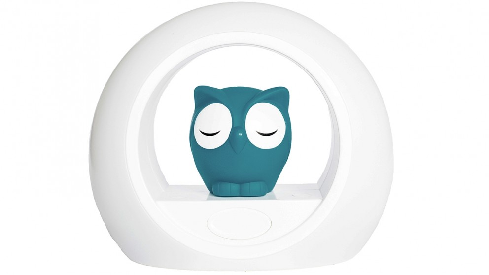 Zazu Lou the Owl Night Light - Blue