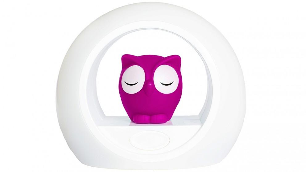 Zazu Lou the Owl Night Light - Pink