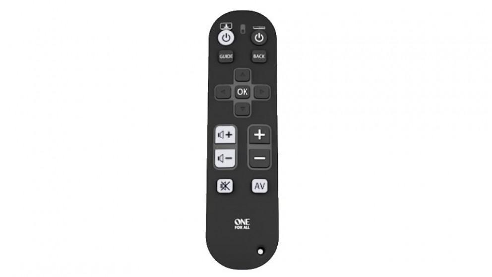 One For All Zapper Remote Control