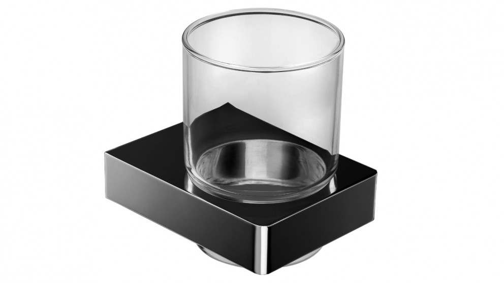 Arcisan Zara Matte Black Glass Holder
