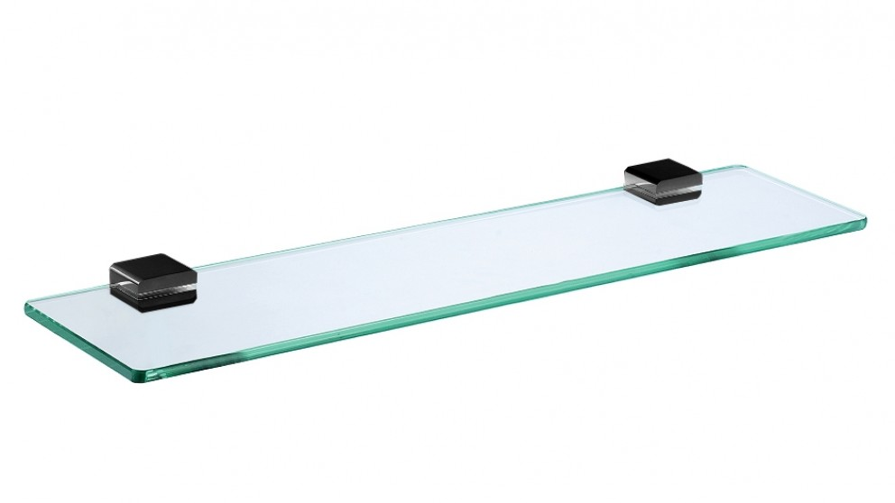 Arcisan Zara Matte Black Glass Shelf