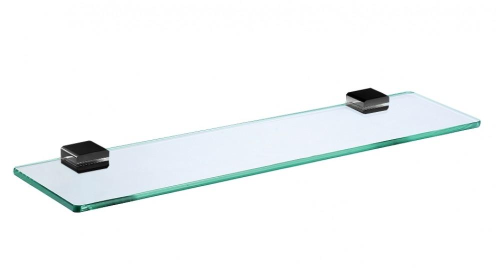 Arcisan Zara Matte Black Glass Shelf