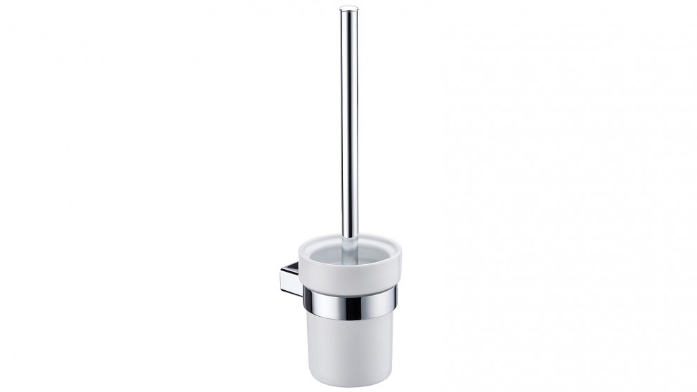 Arcisan Zara Chrome Toilet Brush and Ceramic Holder