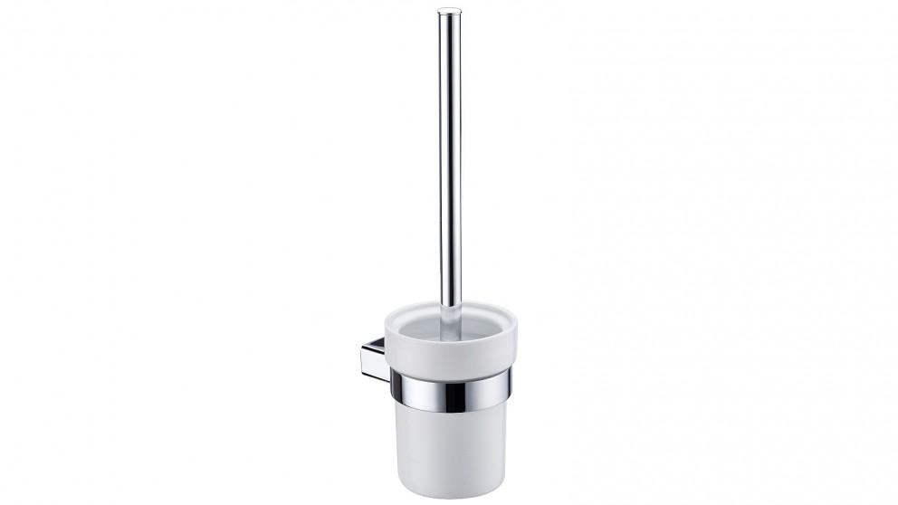 Arcisan Zara Chrome Toilet Brush and Ceramic Holder